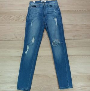 KanCan Distressed Skinny Jeans W11 29 High rise